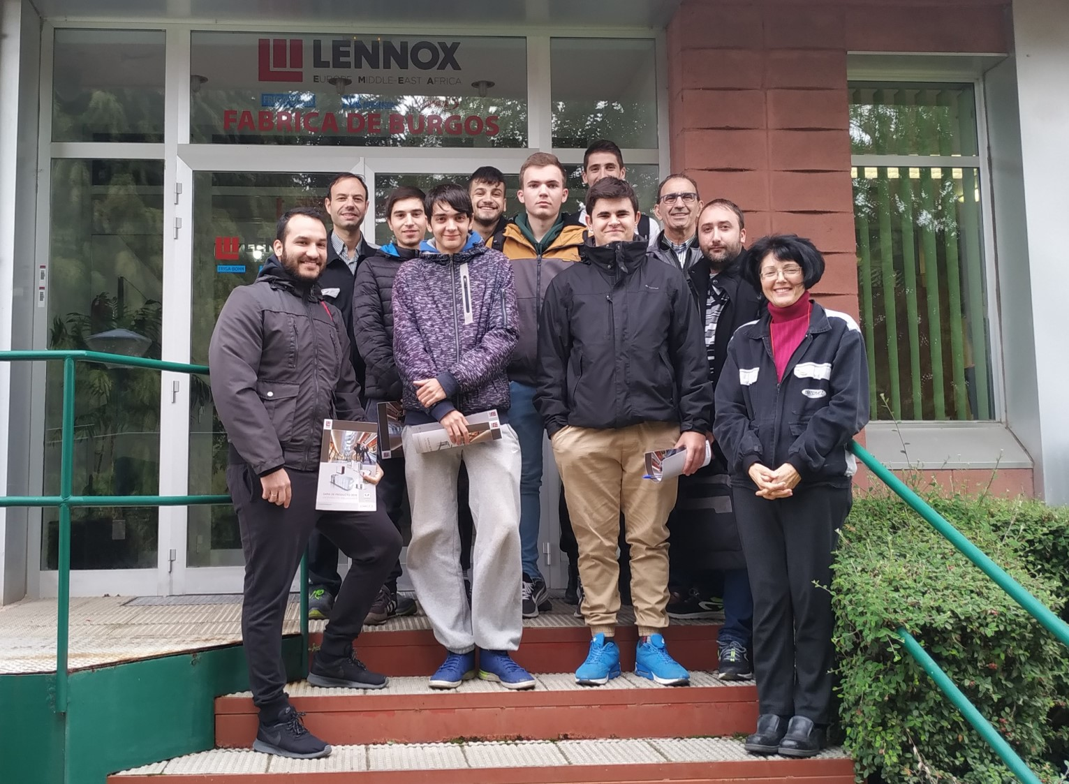 Visita a Lenox