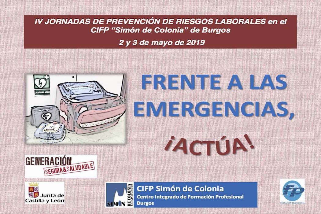 Cartel Jornada de Prevención de Riesgos Laborales 2019